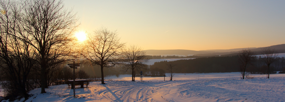 Winterimpressionen im Hunsrück